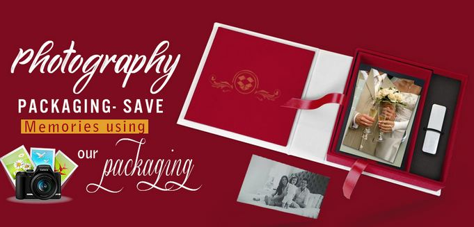 Keep your memories Secure by using Photography Packaging