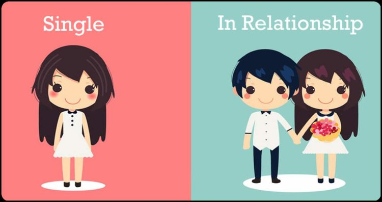 life of single and couple